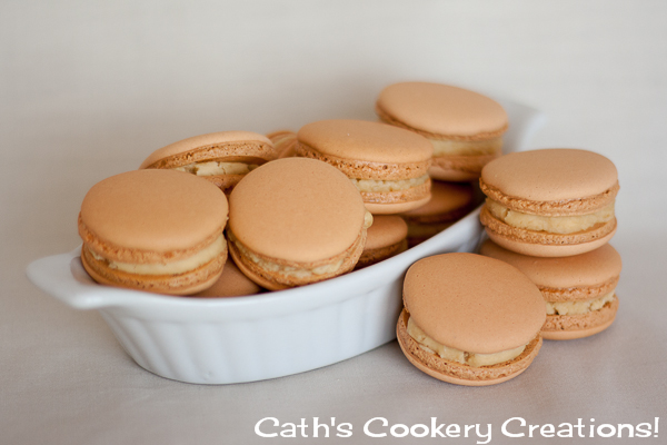 how to make salted caramel macarons
